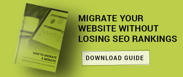 website migration guide call to action