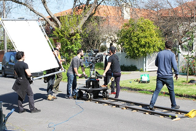Dolly on location