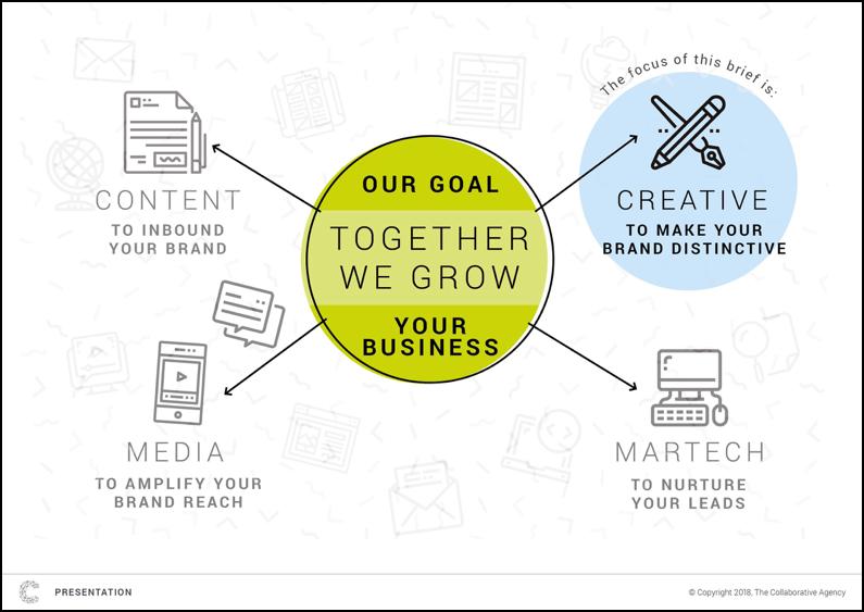 informational graphics slide